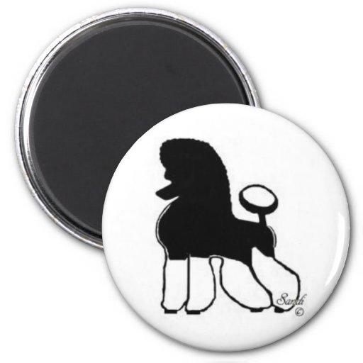 Tuxpoodle Fridge Magnet