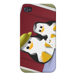 Tux's Family  Cases For iPhone 4
