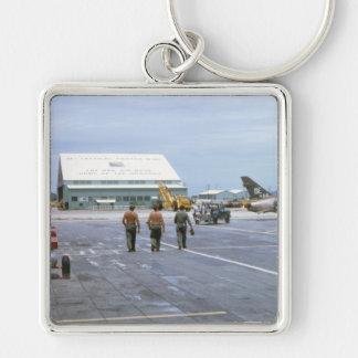 Tuy Hoa Air Base Vietnam 1969 Keychain