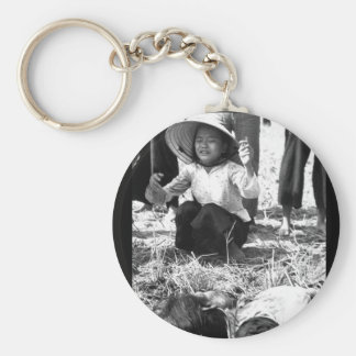 Tuy Hoa:  Fifteen civilians were killed in the exp Basic Round Button Keychain