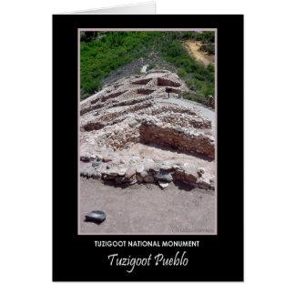 Tuzigoot Pueblo #712b Card