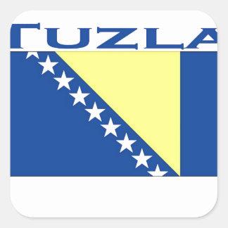 Tuzla Square Sticker