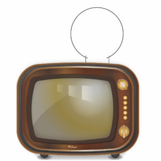 tv acrylic cut out