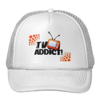 TV ADDICT CAP TRUCKER HAT