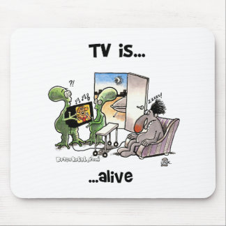 TV... Alive Mouse Pad