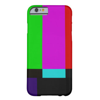 TV bars color test Barely There iPhone 6 Case