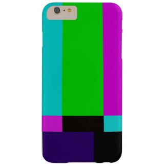 TV bars color test Barely There iPhone 6 Plus Case