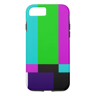 TV bars color test iPhone 8/7 Case