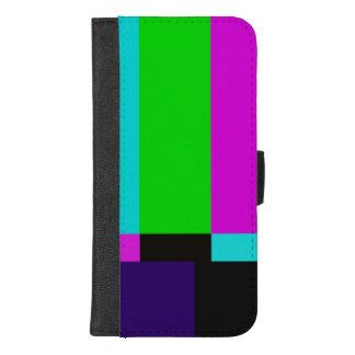 TV bars color test iPhone 8/7 Plus Wallet Case