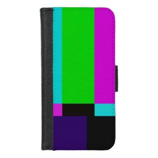 TV bars color test iPhone 8/7 Wallet Case