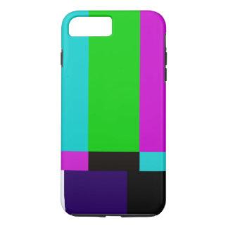 TV bars color test iPhone 8 Plus/7 Plus Case