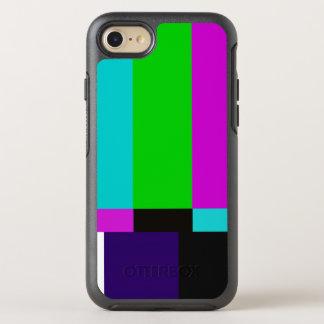 TV bars color test OtterBox Symmetry iPhone 8/7 Case