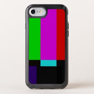 TV bars color test Speck iPhone Case