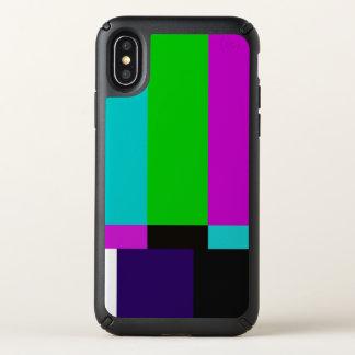 TV bars color test Speck iPhone X Case