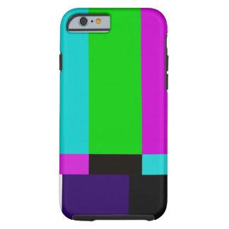TV bars color test Tough iPhone 6 Case