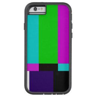 TV bars color test Tough Xtreme iPhone 6 Case