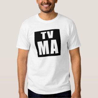 TV: Camiseta del mA (audiencias maduras) Polera