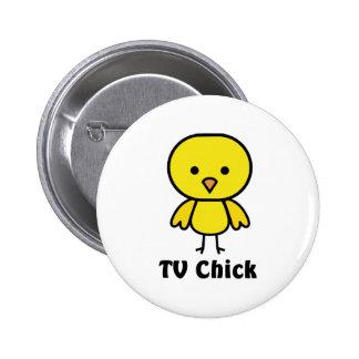 TV Chick Pin