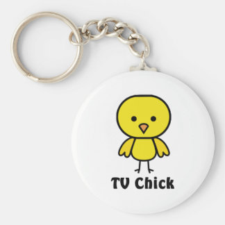 TV Chick Keychain