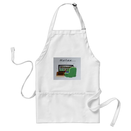 TV Father's Day Adult Apron