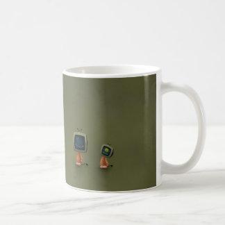 TV Heads Classic White Coffee Mug
