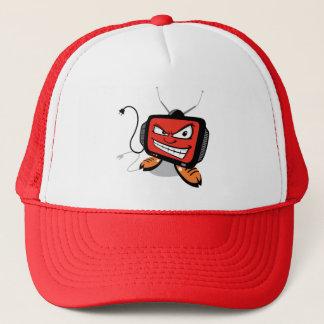 Tv is Evil!! Trucker Hat