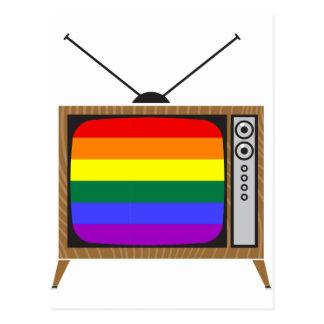 TV LGBT POSTCARD