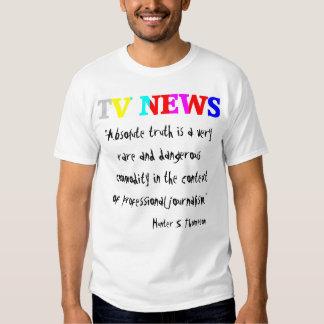 """TV News """"Absolute Truth"""" Shirt"""
