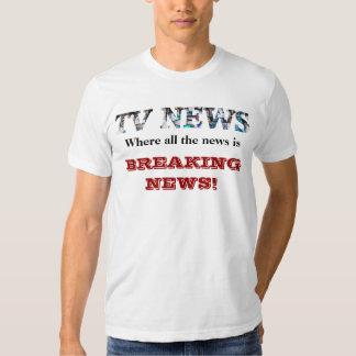 TV News - Breaking News T-Shirt