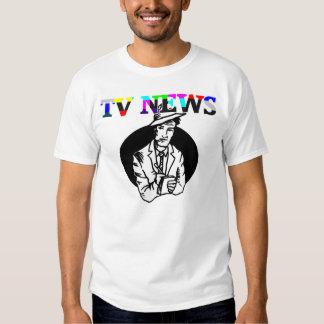 TV News Graphic T-Shirt