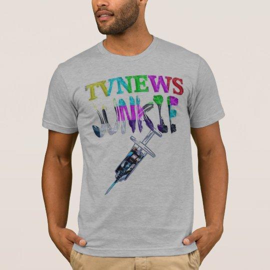 TV News Junkie T-Shirt