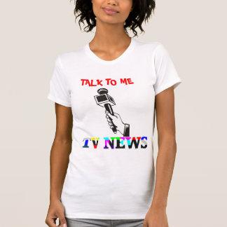TV News Microphone T-Shirt