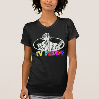 TV News Newswoman T-Shirt