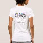 TV News Tshirt