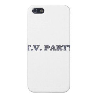 TV Party  iPhone SE/5/5s Cover