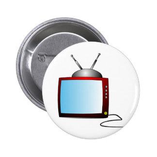 Tv Pinback Buttons