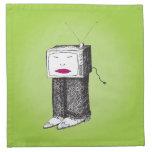 TV portátil Servilleta