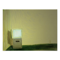 television, tube, radio, cable, room, carpet, painting, poop, minimalism posters, artsprojekt, miscellaneous, furnace room, mass-media, trading floor, Transmission (telecommunications), picture gallery, telecommunication, prayer rug, monochrome, durbar, black-and-white, dinette, television set, darkroom, television program, scatter rug, History of television, dining-room, DVD-Video, greenroom, advertising, numdah, news, front room, video cassettes, hearthrug, laserdisc, parlour, Blu-ray Disc, living-room, Cartaz/impressão com design gráfico personalizado