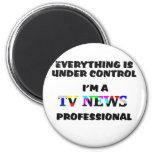 TV PRO 2 INCH ROUND MAGNET