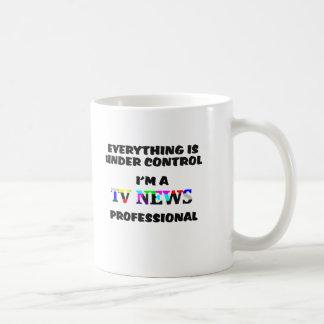 TV PRO CLASSIC WHITE COFFEE MUG
