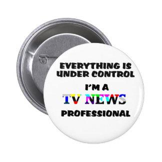 TV PRO PINBACK BUTTON
