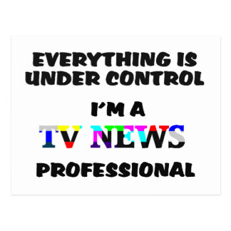 TV PRO POSTCARD