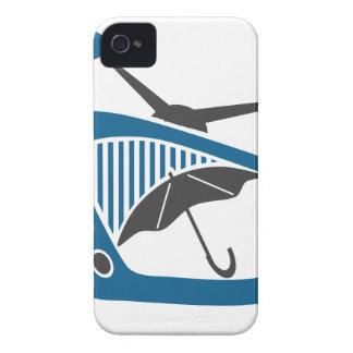 TV Rain Umbrella Forecast Case-Mate iPhone 4 Cases