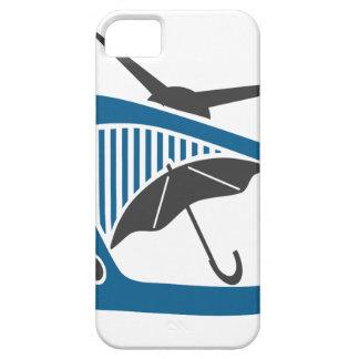 TV Rain Umbrella Forecast iPhone 5 Cover