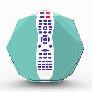 TV remote Acrylic Award