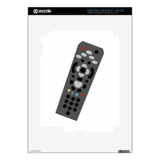TV Remote Decals For iPad 3