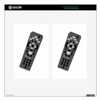 TV Remote Decals For Kindle Fire