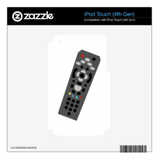 TV Remote iPod Touch 4G Decal