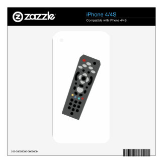 TV Remote Skins For iPhone 4