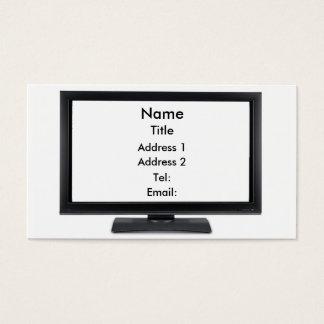 TV Screen-01 Business Card